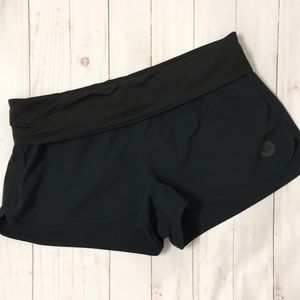 Roxy Foldover Black Boardshort
